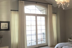 Two Tiered Drapes