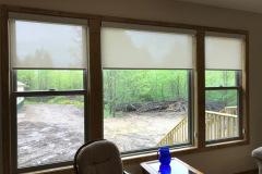 Living Room Solar Shades
