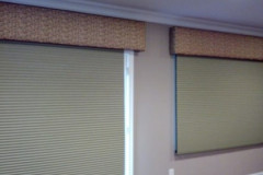 Two Honeycomb Shades