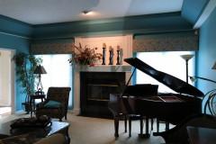 Elegant Living Room Valances