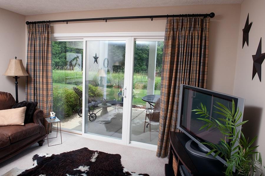 Burberry plaid drapes a designer solution sew what sew - Burberry fabric for car interior ...